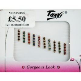 Designer Multi-Color Bindi Packet