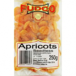 Fudco Apricots Dry Seedless 250g