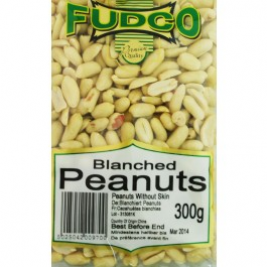 Fudco Blanched Peanuts 300g