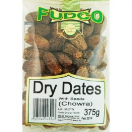 Fudco Dry Dates With Seeds 375g