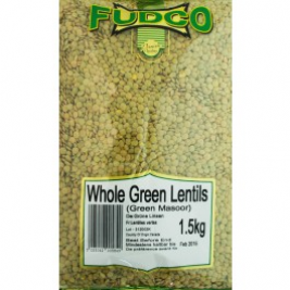 Fudco Green Lentils (Whole Dal) 1.5 Kg