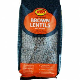 KTC Brown Lentils (Brick Pack) 500g