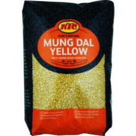 KTC Moong Dal Yellow (Brick Pack) 2 Kg