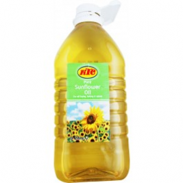 KTC Sunflower Oil 3 Ltr (PET)