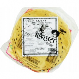 Lijjat Green Chilli Papad 200g