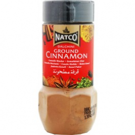 Natco Ground Cinnamon (Dalchini) Jar 100g
