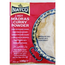 Natco Medium Madras Curry Powder(Jar) 100g