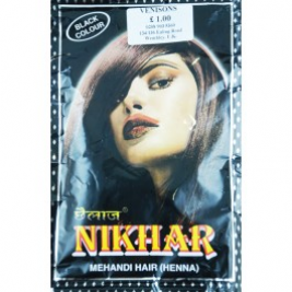 Nikhar Hair Black Henna