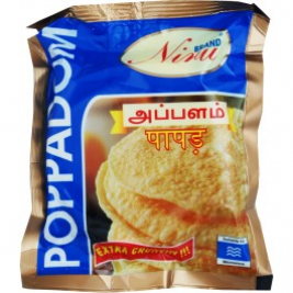"Niru Papadam 3"" (Mini) 150g"