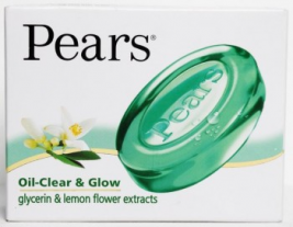 Pears Oil-Clear&Glow Soap 75g