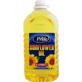 Pride Sunflower Oil 5 Ltr