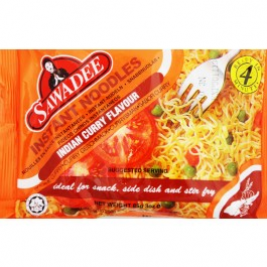 Sawadee Indian Curry Flavour Instant Noodles 85g