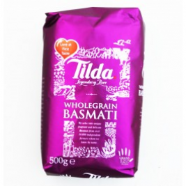 Tilda Basmati Rice Brown 500g