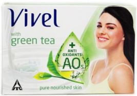 Vivel Green Tea Soap 100g