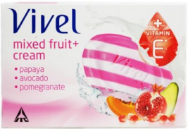 Vivel Mixed Fruit Soap 100g