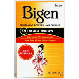 Bigen Black Brown 58