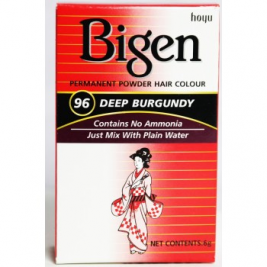 Bigen Deep Burgundy 96