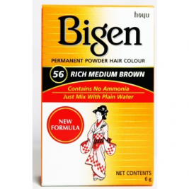 Bigen Rich Medium Brown 56