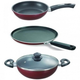 Butterfly Fry Pan Set 3 Pcs