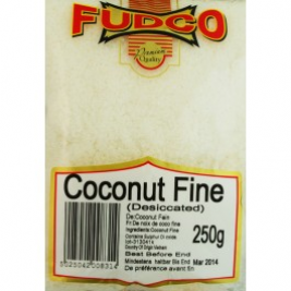 Fudco Fine Coconut Desiccated 250g