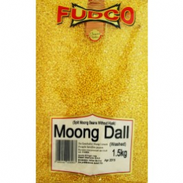 Fudco Moong Dal Washed 1.5 Kg