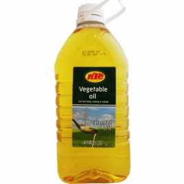KTC Vegetable Oil 3 Ltr (PET)