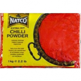 Natco Chilli Powder Extra Hot 1 Kg