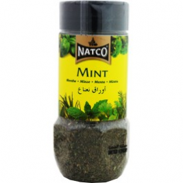 Natco Dried Mint(Jar) 25g