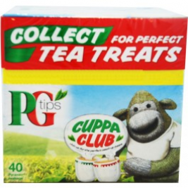 PG Tips Tea (40 bags)