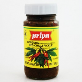Priya Gongura & Red Chilli Pickle 300g
