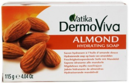 Vatika Almond Soap 115g
